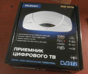 """Первый ресивер для """"цифры"""" - Rolsen RDB-507N"""