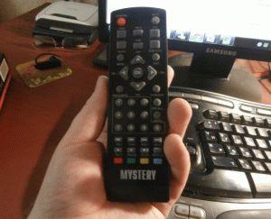 Пульт от цифрового тв тюнера Mystery MMP-71DT2