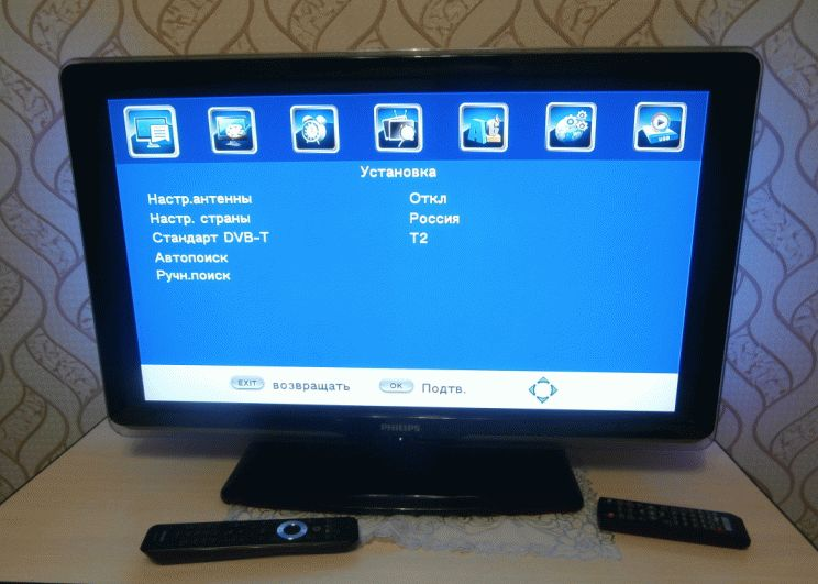 Настраиваем цифровое ТВ с помощью автопоиска