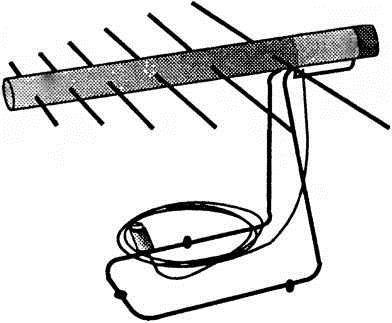 Обычная комнатная дециметровая антенна так же подойдет